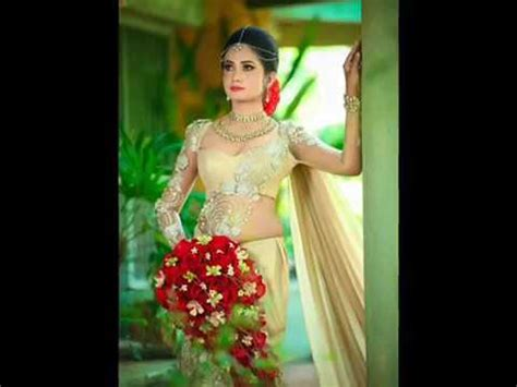 sri lankan weddings bridal saree designs youtube