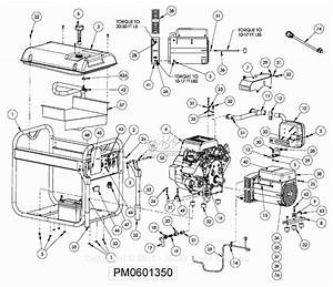 Powermate Formerly Coleman Pm0601350 Parts Diagram For Generator Parts
