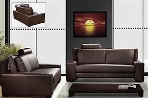 Mobilier De Salon : sofa causeuse mobilier de maison salon contemporain ~ Teatrodelosmanantiales.com Idées de Décoration