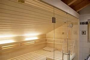 Kinderbett Unter Dachschräge : sauna unter einer dachschr ge apart sauna ihre ~ Michelbontemps.com Haus und Dekorationen
