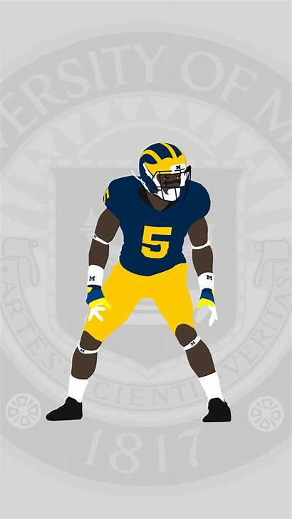 Michigan Wolverines Football Iphone Parallax Plus Getwallpapers