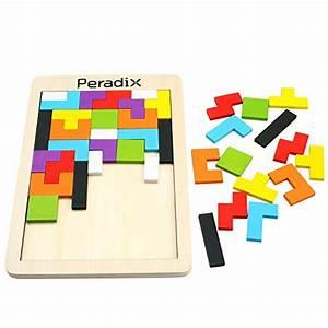 Spielzeug Für Mädchen 3 Jahre : peradix tetris tangram holzpuzzles lernspielzeug intelligenz p dagigisches spielzeug f r kinder ~ Watch28wear.com Haus und Dekorationen
