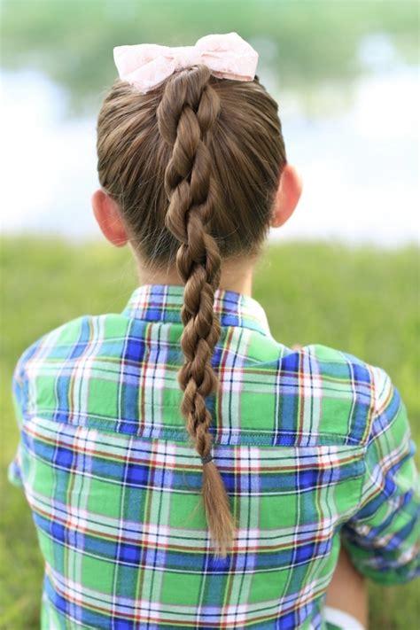 how to create a chain link braid cute girls hairstyles