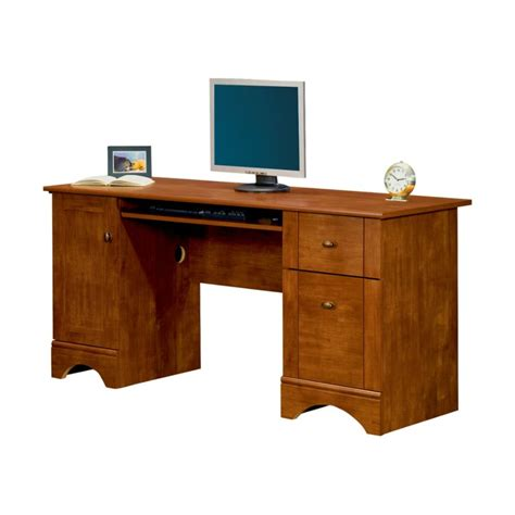 small wood computer computer desk for small spaces and efficient space