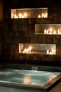 1001 idees comment decorer vos interieurs avec une niche With salle de bain design avec bougie à décorer