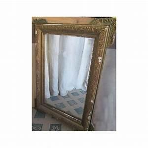 Miroir Doré Ancien : miroir ancien bois et platre dor restaurer broc23 ~ Teatrodelosmanantiales.com Idées de Décoration