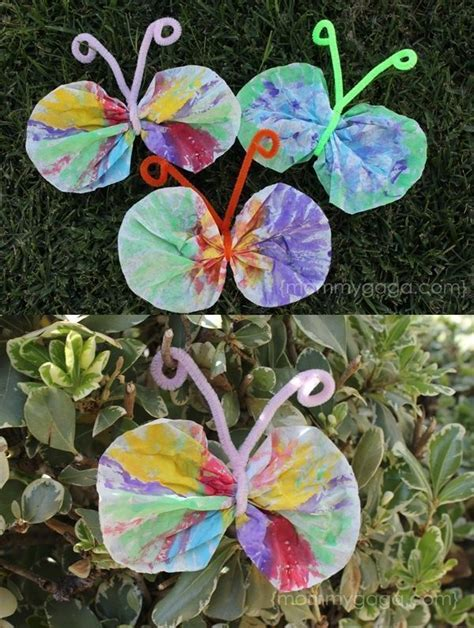 crafts for coffee filter butterfly craft 519 | 71551981fbf3b0708ae940c43a10d21b