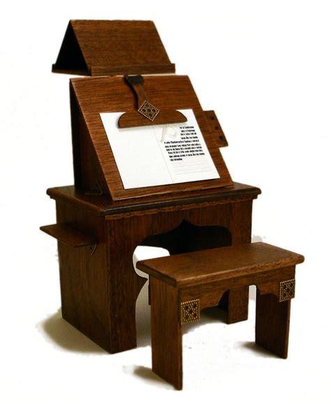 medieval scribes workbench medieval furniture