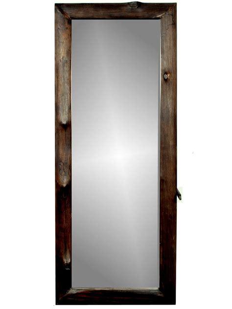 miroir sur pied en bois de teck quot suthep quot 40x120 cm
