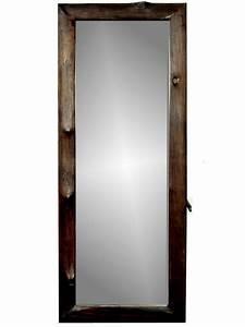 Miroir Sur Pied : miroir sur pied en bois de teck suthep 40x120 cm cadres miroirs miroirs sur pied en bois ~ Teatrodelosmanantiales.com Idées de Décoration