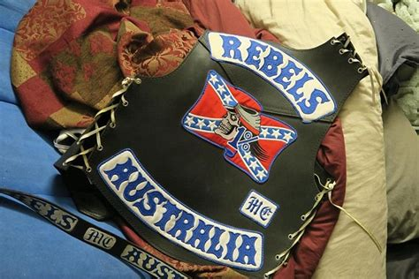 Thieves Steal Official Rebels Outlaw Bikie Jackets Worth
