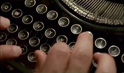 Writing Animated Typewriter Keys Gifs Writer Cartoon