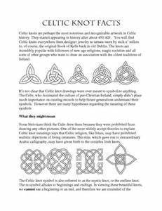 Irish Celtic Symbols And Meanings Chart Celtic Knot Facts Bing Images Celtic Symbols And