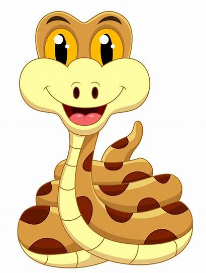 Jungle Animals Cartoon Safari Snake Clipart Animal
