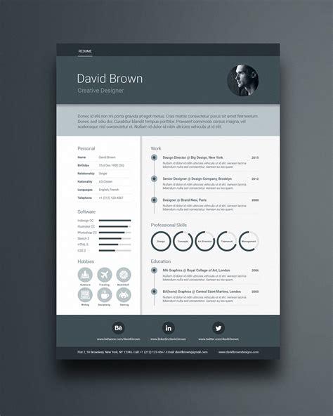 free material design resume template www ikono me