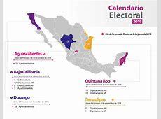 Calendario Electoral Instituto Nacional Electoral