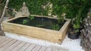 Bassin Beton Hors Sol. bassin de jardin hors sol construction bassin ...