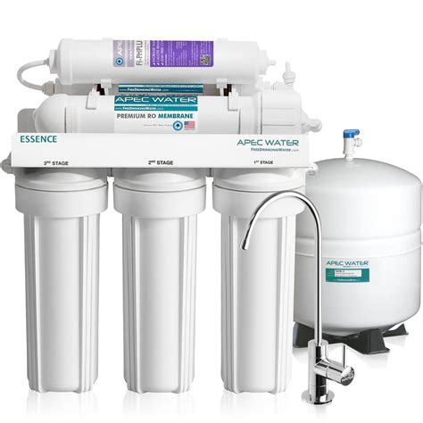 water filtration system for kitchen sink apec water systems essence premium quality 75 gpd ph