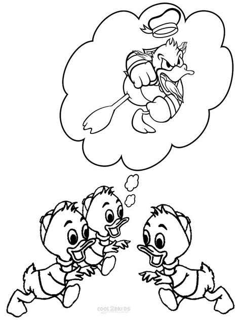 Coloring Pages by Printable Donald Duck Coloring Pages For Cool2bkids