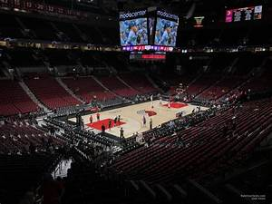 Moda Seating Chart With Seat Numbers Section 205 At Moda Center Portland Trail Blazers