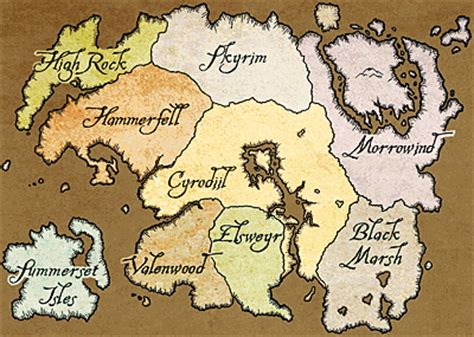map  tamriel elder scrolls fandom powered  wikia