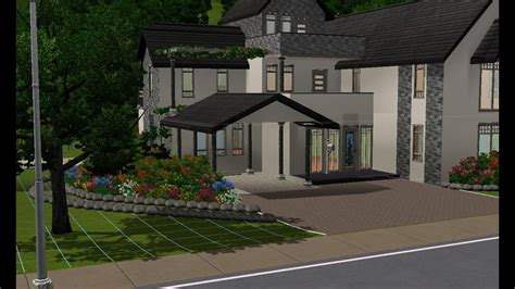 sims  building  large family home youtube