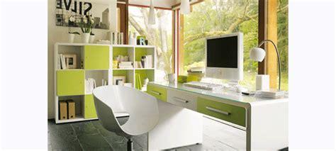 le bureau verte aménagement décoration bureau vert