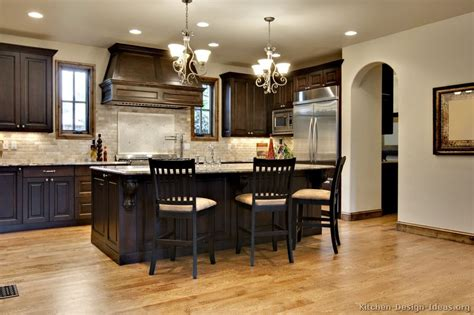 kitchen colors with dark cabinets pictures of kitchens traditional dark wood walnut