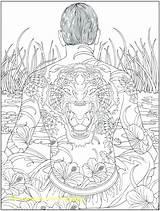 Complex Coloring Printable Mandala Getcolorings sketch template