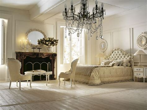 Cool White Nuanced Spacious Bedroom Which Is Decorated