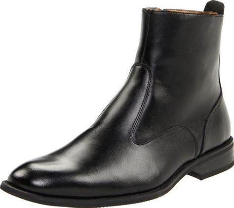 Giorgio Brutini Mens Fielding Black Leather Side