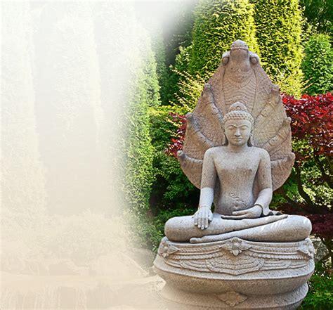 buddha statue f 252 r den garten