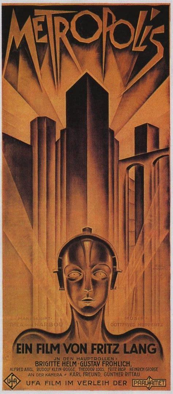 1920s Movies in 2020 | Old movie posters, Metropolis ...