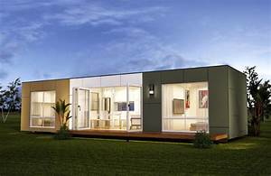 San Marino - Two Bedroom Prefab Container Home - Modern