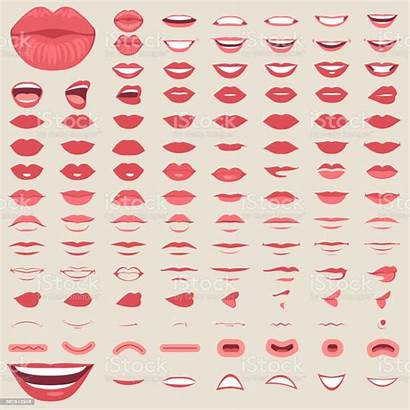 Lips Mouth Male Smile Vector Female Illustration