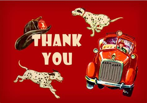 firefighter birthday   card party pack  cards