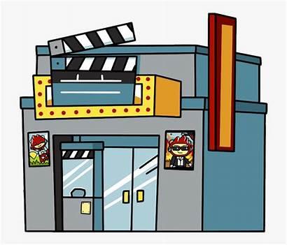 Clipart Theater Cartoon Cinema Theatre Drama Film