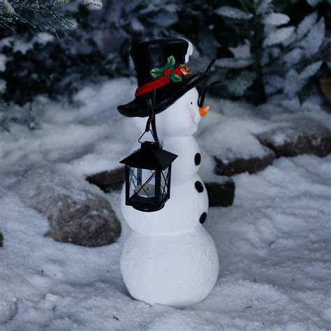 Weihnachtsdeko Garten Aufblasbar by Schneemann Snowy Mit Laterne Kaufen Bei G 228 Rtner