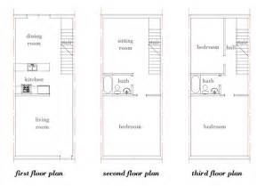 row house floor plan modern house plans by gregory la vardera architect row house concept looking back