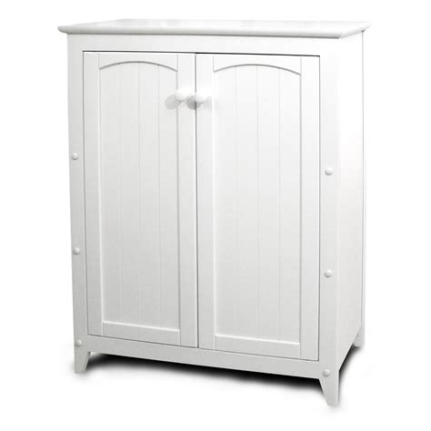 catskill white  purpose kitchen storage cabinet  double doors buffets sideboards