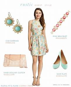 what should a guest wear to a rustic wedding summer With dresses to wear to a barn wedding