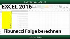 Excel Tabelle Berechnen : fibunacci folge berechnen excel toptorials ~ Themetempest.com Abrechnung