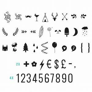 Symbole Für Unglück : nummern und symbole f r die lightbox ~ Bigdaddyawards.com Haus und Dekorationen