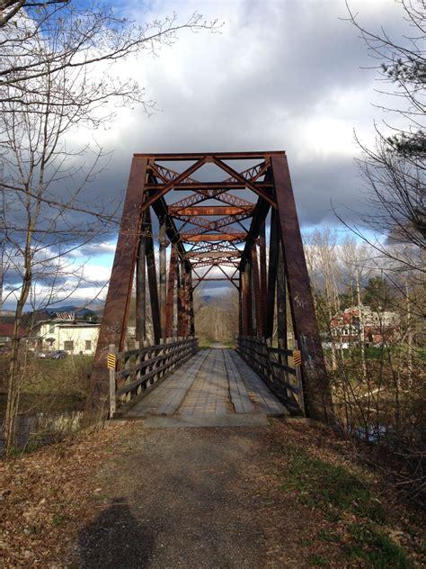 bridgehuntercom lamoille valley rail trail lamoille