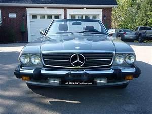 Mercedes 560 Sl : 1987 mercedes benz 560 sl ~ Melissatoandfro.com Idées de Décoration