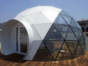 Sphere Dome bar - temporary building.