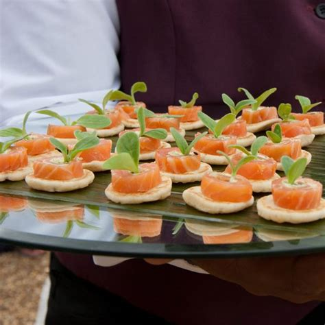 best 25 canapes catering ideas on