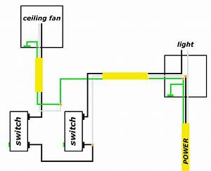 Help With Light And Fan Wiring - Electrical