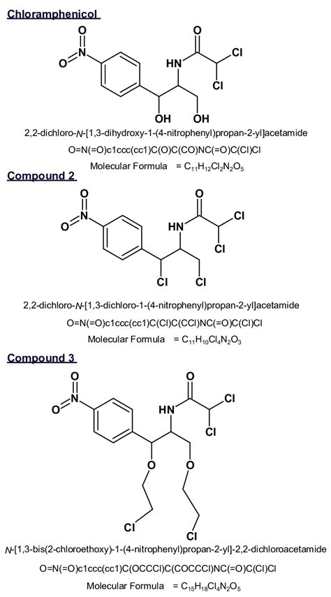 Naming Compound Diagram by Molecular Structures Iupac Name Smiles And Molecular