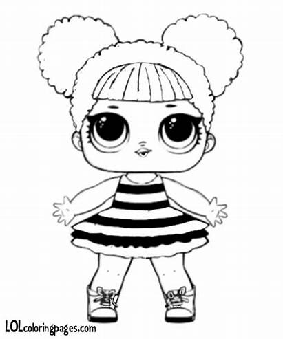 Lol Dolls Doll Queen Bee Coloring Drawing